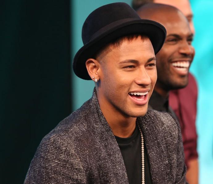 Neymar participa do Ding Dong (Foto: Carol Caminha/Gshow)