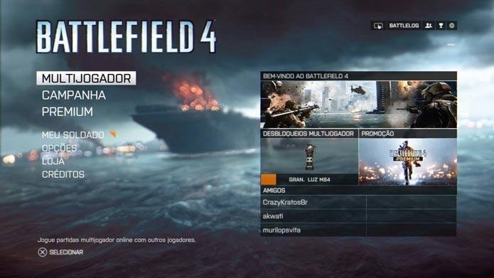 Battlefield 4: aprenda a experimentar armas e veículos no Campo de Treinamento (Foto: Reprodução/Murilo Molina