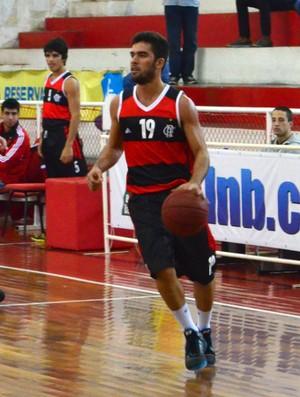 O armador Gegê, do Flamengo, em jogo da LDB (Foto: Danilo Sardinha/Globoesporte.com)