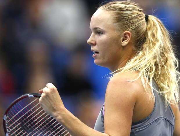 Tenista, Caroline Wozniacki, Moscou (Foto: Agência Reuters)