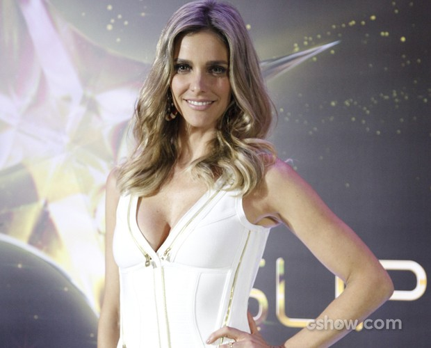 Fernanda Lima fala sobre performance no SuperStar (Foto: SuperStar / TVGlobo)