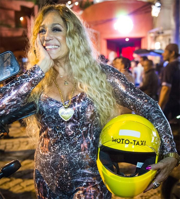 Susana Vieira será Adisabeba em A Regra do Jogo, a dona do Hostel e da Caverna da Macaca (Foto: João Miguel Júnior/ Globo)