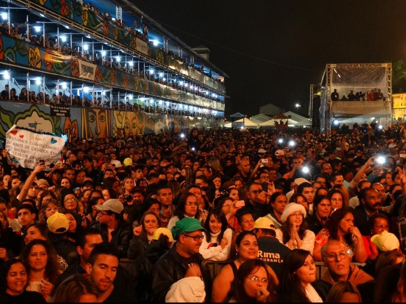 Penúltima noite do 24º Festival de Inverno de Garanhuns (Foto: Jael Soares/ G1)