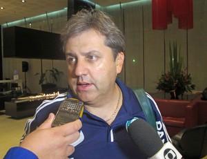 Gilson Kleina Palmeiras Bogotá (Foto: Diego Ribeiro / Globoesporte.com)