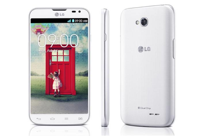 LG L70 é um smartphone intermediário com tela de 4,5 polegadas, câmera de 5 megapixels e Android KitKat (Foto: Divulgação/LG)