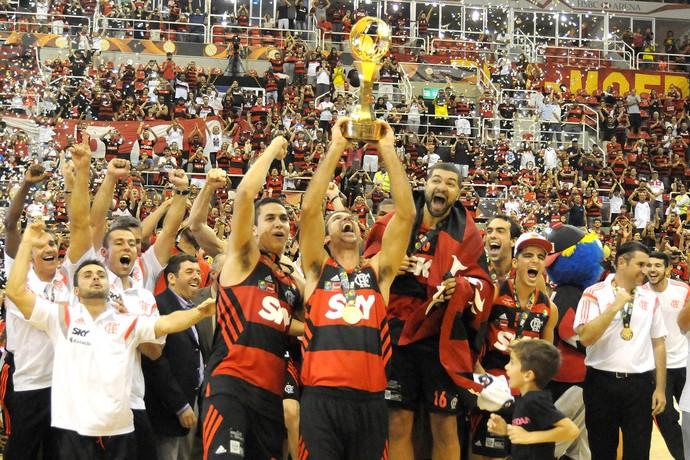 Flamengo campeão intercontinental de basquete (Foto: André Durão)