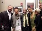 Drake conhece a família de Rihanna após discurso apaixonado no VMA