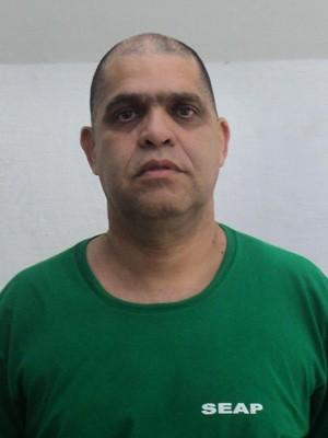 Pastor Marcos Pereira é acusado de estupro no Rio e foi levado para o Complexo Penitenciário de Bangu (Foto: Seap/Divulgação)