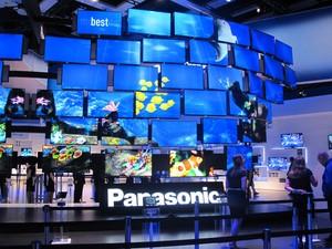 Estande da Panasonic (Foto: Amanda Demetrio/G1)