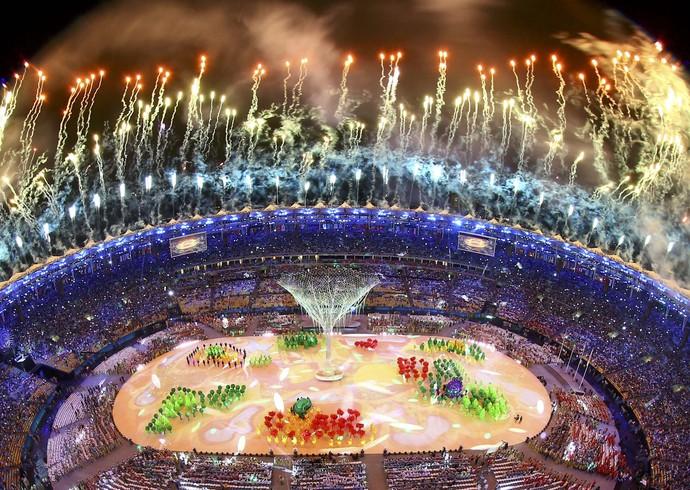 Encerramento Rio 2016 (Foto: Reuters)