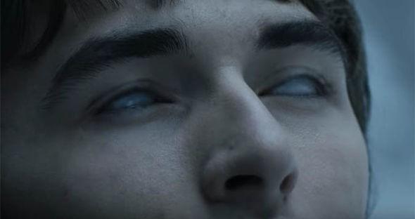 Menino Bran com o olho de Thundera (no inverno) (Foto: divulgação)