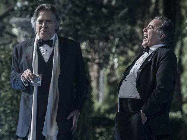 Bernardo e Braga (Foto: Estevam Avellar / TV Globo)