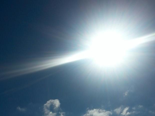 Sol deve predominar no céu catarinense nesta terça (31) (Foto: Carolina Lopes/G1)