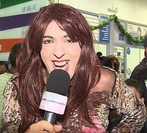 Ritinha na crise financeira (Foto: TV Sergipe)