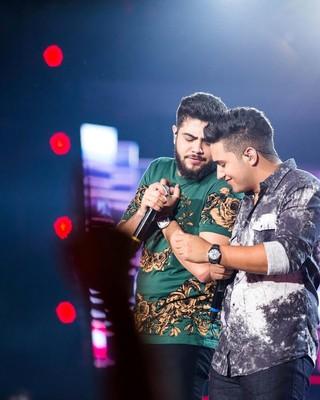 Henrique e Juliano (Foto: Divulgação/ Festeja ES)