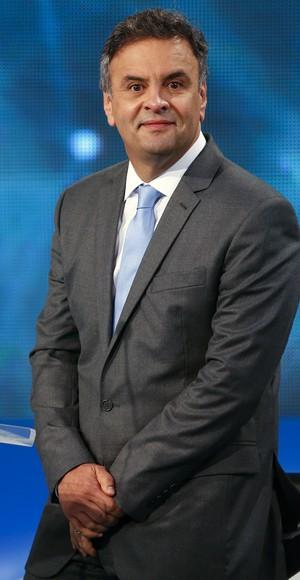 O candidato do PSDB  à Presidência da República, Aécio Neves (Foto: André Penner/AP)