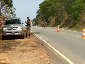 Operação em Cláudio (Foto: PM/Divulgação)