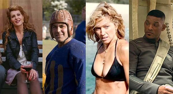 Nia Vardalos, George Clooney, Madonna, Will Smith (Foto: Divulgação)