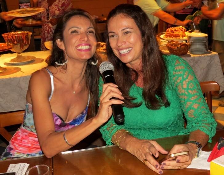 Patrícia Poeta e Beatriz Castro