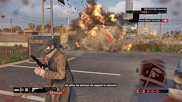 O uso de explosivos são bons contra inimigos de armaduras (Foto: Reprodução)