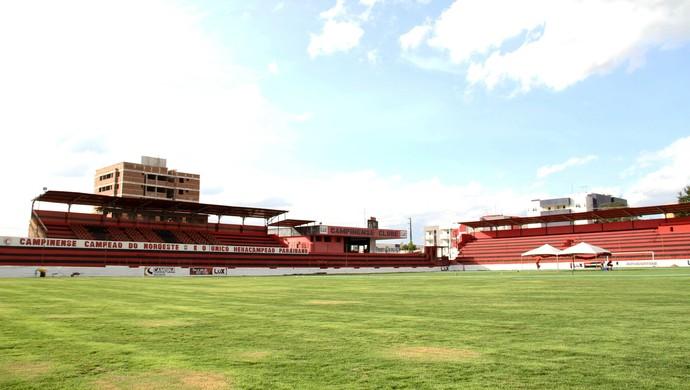 Estádio Renatão, Campinense  (Foto: Nelsina Vitorino / Jornal da Paraíba)