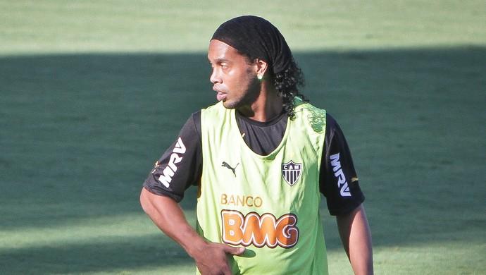 Ronaldinho Gaúcho. meia do Atlético-MG (Foto: Bruno Cantini\ Flickr Atlético-MG)