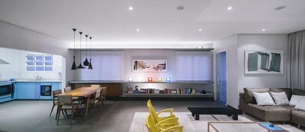 Sala integrada: 14 ideias para unir ambientes (Foto: Pedro Kok / divulgação)