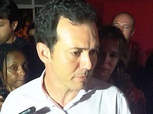 Petista diz que fez campanha de acertos e não se arrepende de nada (Foto: Dhiego Maia/G1)