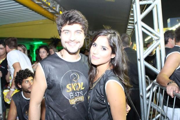 Guilherme Leicam e Camila Camargo em Florianópolis (Foto: SUMMERFLORIPA/DIVULGAÇÃO)