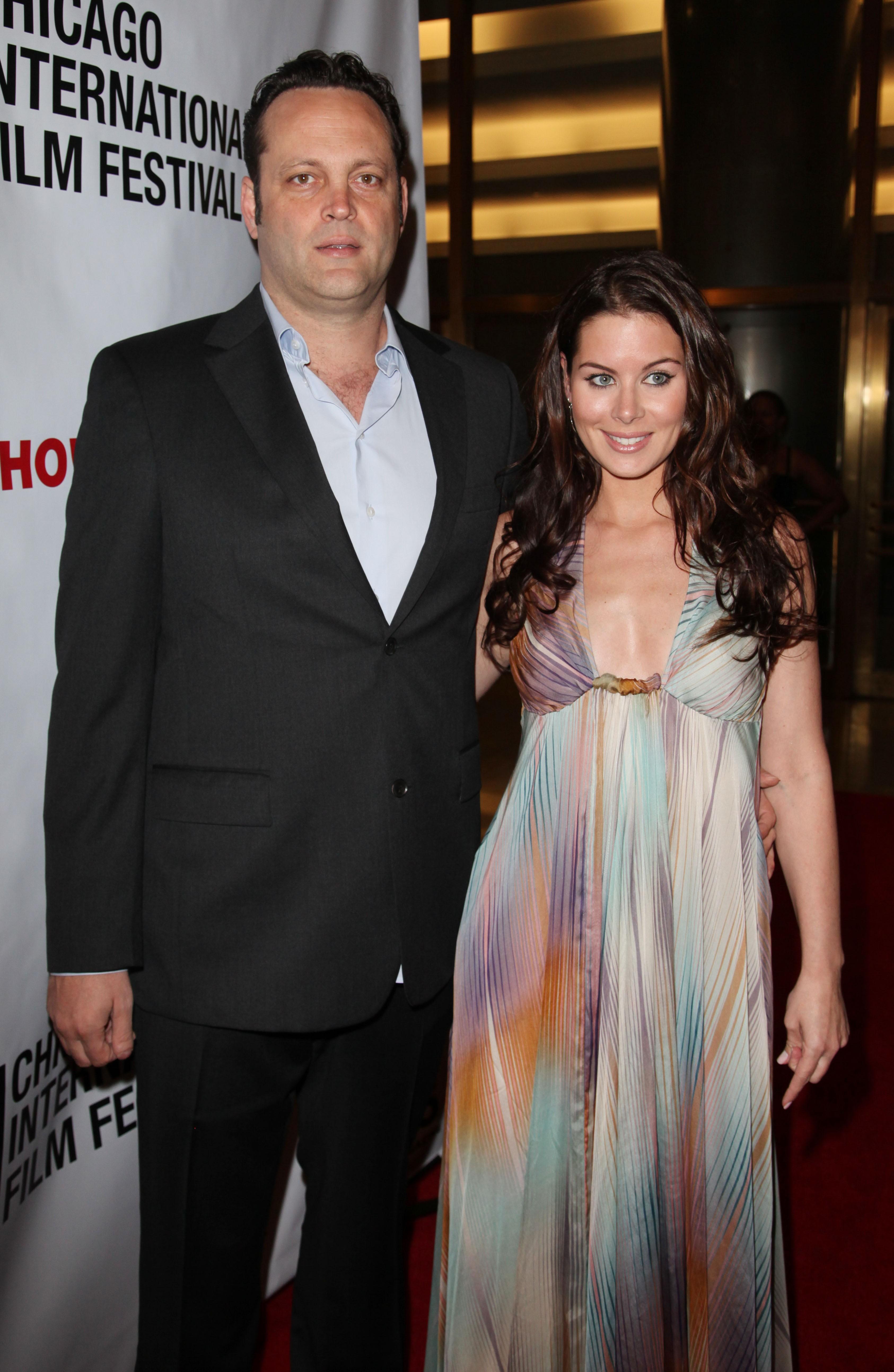 Depois de terminar o relacionamento com Jennifer Aniston, Vince mudou-se para o Canadá e conheceu a corretora de imóveis Kyla Weber. Eles se casaram em 2010. (Foto: Getty Images)
