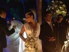 Estilista rebate críticas ao vestido de noiva de Moranguinho: 'Chiquérrima'