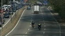 Rodovia Raposo Tavares (Foto: Reprodução / TV TEM)