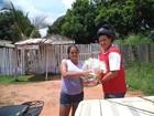 Projeto Casa do Papai Noel entrega cestas básicas em Guajará-Mirim, RO