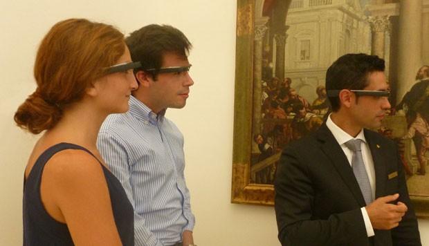 O hotel Abadia Le Domaine, na Espanha, está oferecendo o Google Glass aos hóspedes (Foto: Divulgação/Le Domaine)