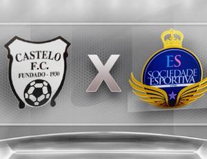 Campeonato Capixaba 2012 Série B: Castelo x ES de Marilândia (Foto: Globoesporte.com)