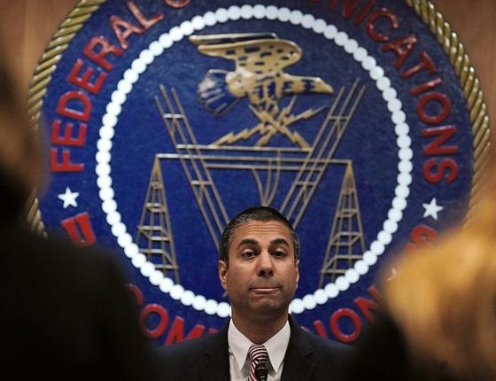 EFEITO GLOBAL Ajit Pai,da FCC.No governo Trump,ele pode atender a um velho pedido dos provedores de acesso á internet (Foto:   Alex Wong/Getty Images/AFP)
