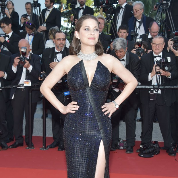Marion Cotillard em Cannes 2017 (Foto: Getty Images)