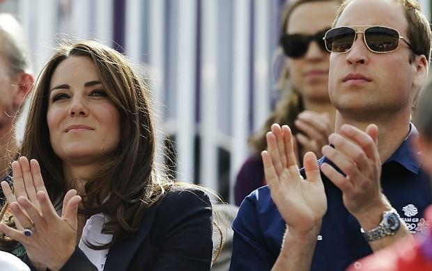 Príncipe William Kate Londres 2012 hipismo cce (Foto: AP)