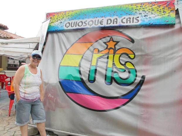 Cris montou o negócio sem pensar que seria sucesso para o público GLS (Foto: Anna Gabriela Ribeiro/G1)