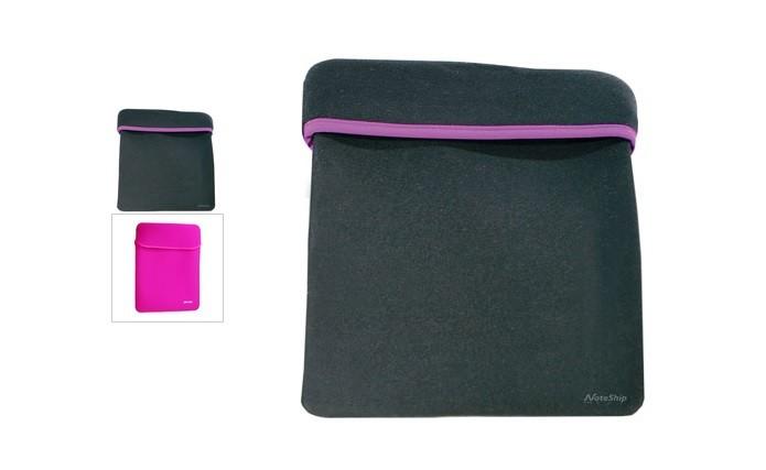 32c21237356e1 Case dupla face funciona como luva e protege o notebook (Foto   Divulgação Leadership