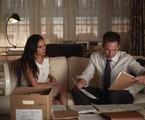 Meghan Markle e Patrick J. Adams em 'Suits' | Reprodução