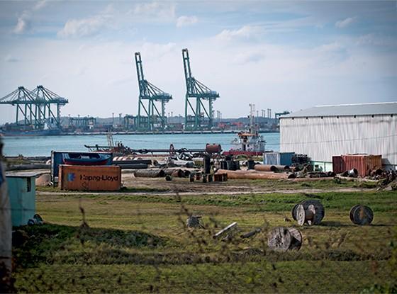 SIGILO Reforma do Porto de Mariel, em Cuba. Operações secretas afetam a credibilidade do banco (Foto: Bloomberg via Getty Images)