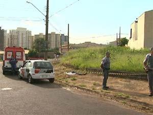 Bandido foi morto ao tentar roubar policial aposentado em Ribeirão. (Foto: Reprodução/EPTV)