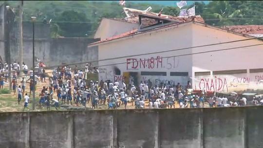 Governador diz que PM vai entrar em Alcaçuz e fazer 'paredão humano'