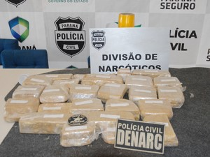 Prisão aconteceu nas proximidades do Parque Barigui (Foto: Divulgação/Polícia Civil)