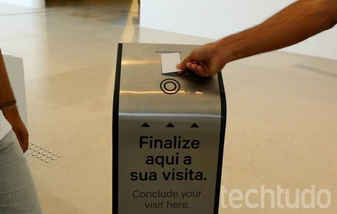 Saída Museu (Foto: Luana Marfim/TechTudo)