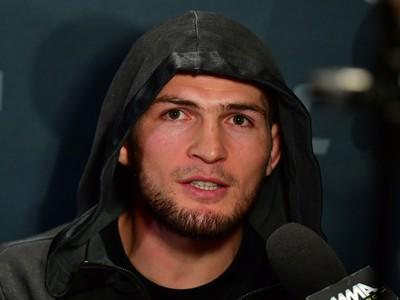 Khabib Nurmagomedov media day UFC 205 (Foto: Jason Silva)