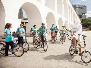 Cyclophonica é a única orquestra profissional de bicicletas do mundo (Foto: Divulgação/Cyclophonica)