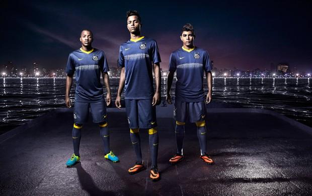 Nova Camisa Santos (Foto: Divulgação/Nike)