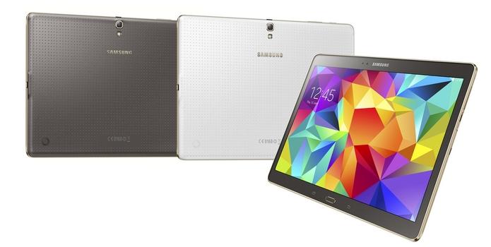 Nova linha Galaxy Tab traz hardware potente e design do S5 (Foto: Divulgação/Samsung)